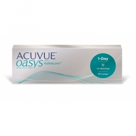 Johnson & Johnson Acuvue Oasys with HydraLuxe 1-Day 30 cocek -5,25