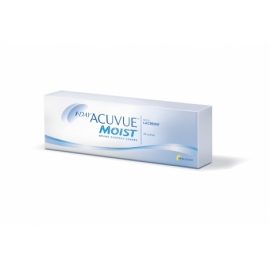 Johnson & Johnson Acuvue 1 Day Moist 30 cocek -0.75