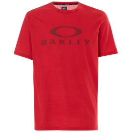 Tričko OAKLEY O BARK SAMBA RED
