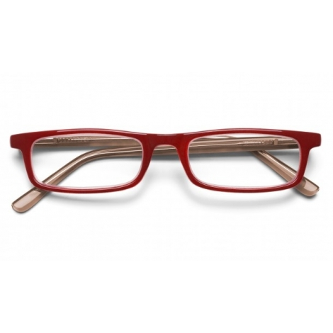 2399 CLARK READERS BRILLIANT RED +2.00