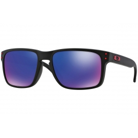 OAKLEY Holbrook Matte Black /Positive Red Iridium