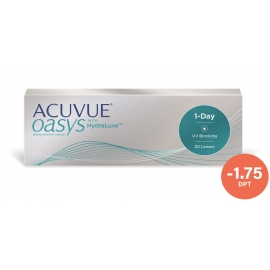 Johnson & Johnson Acuvue Oasys 1-Day 30 cocek -1.75
